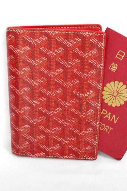 ゴヤール [ GOYARD ] パスポートケース 2WAY 財布 レッド 赤 パスポートカバー カードケース [ SAINT PAULAPM]