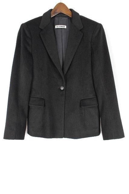 ジルサンダー [ JIL SANDER ] カシミヤ100% ジャケット ブラック 黒 SIZE[34] レディース トップス アウター コート