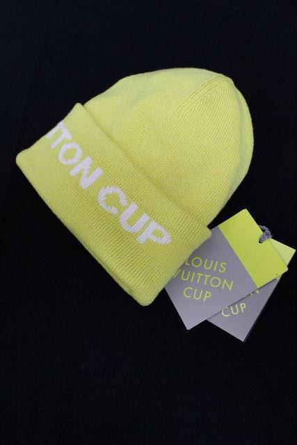 ルイヴィトン [ LOUISVUITTON ] ヴィトンカップ ニット帽子 イエロー 黄色 SIZE[TU] メンズ レディース ハット 帽子 ヴィトン ビトン