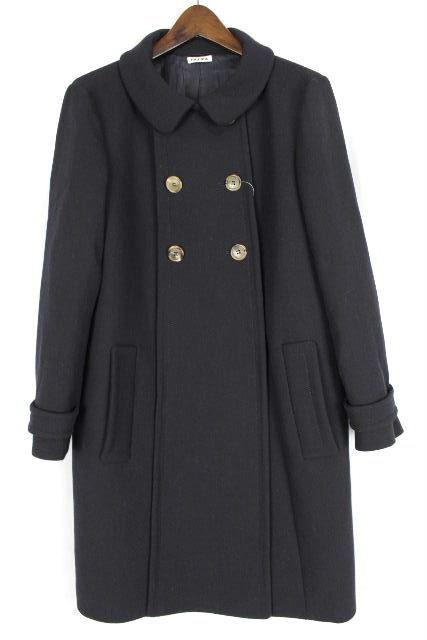 ミュウミュウ [ MIUMIU ] 襟 コート ブラック 黒 SIZE[42] レディース アウター