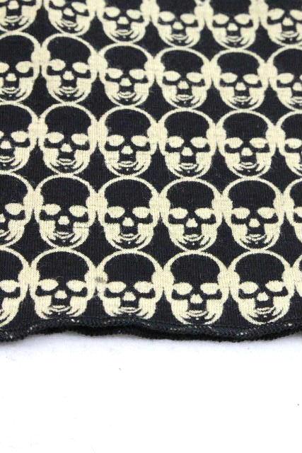 ルシアンぺラフィネ [ pellat-finet ] スカル カットソー ブラック 黒 長袖 SIZE[M] メンズ トップス ロンT ロングTシャツ ぺラフィネ