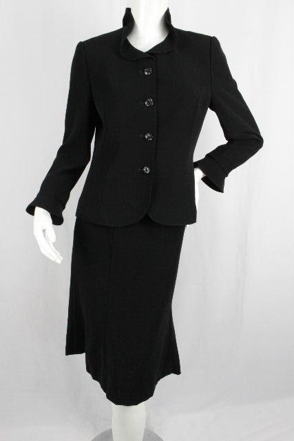 ジュンアシダ [ junashida ] フリル セットアップ スーツ ブラック 黒 SIZE[9号] レディース ジャケット スカート