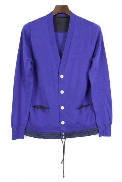 サカイラック [ sacai ] ニット カーディガン ブルー 長袖 SIZE[1] メンズ サカイ トップス セーター カーデ