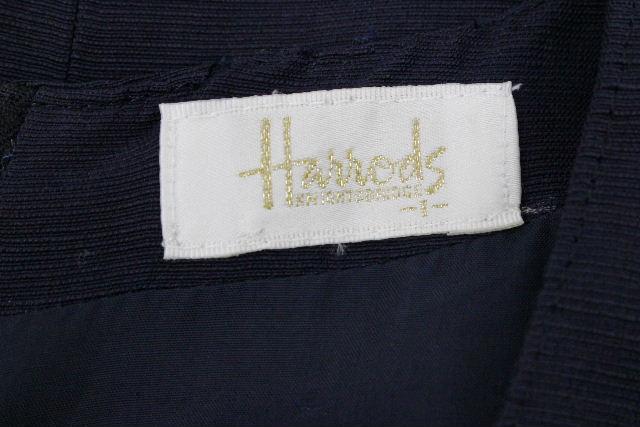 ハロッズ [ Harrods ] カメリア リボン ワンピース ネイビー 紺色 SIZE[1] レディース ワンピ