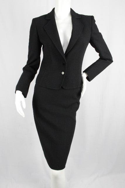 ヴァレンティノ [ VALENTINO ] セットアップスーツ ブラック 黒 SIZE[4] レディース ジャケット スカート