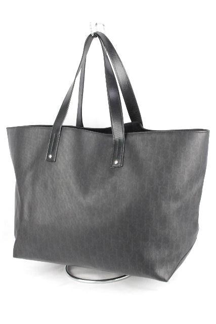 buy popular 90a04 89965 ディオールオム [ Dior ] トロッター柄 トートバッグ ブラック ...