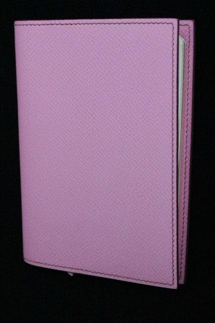 エルメス [ HERMES ] アジェンダGM ヴォーエプソン ローズコンフェッティ ピンク 手帳カバー システム手帳