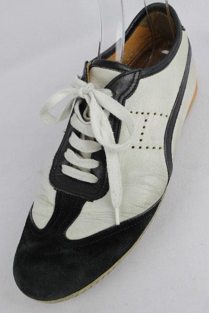 エルメス [ HERMES ] エブリン レザー スニーカー ホワイト 白 SIZE[40.5] メンズ シューズ 靴