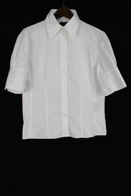 フェンディ [ FENDI ] シャツ ブラウス ホワイト 白 半袖 SIZE[44] レディース トップス