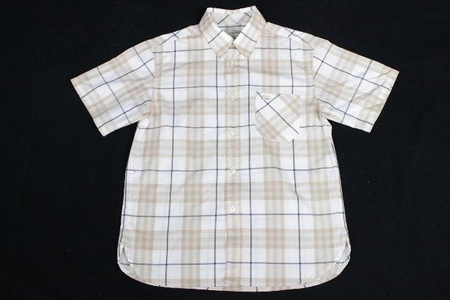 バーバリー [ BURBERRY ] ホースマーク チェック柄 シャツ 半袖 SIZE[10Y/140cm] キッズ 子供用 男の子用 トップス