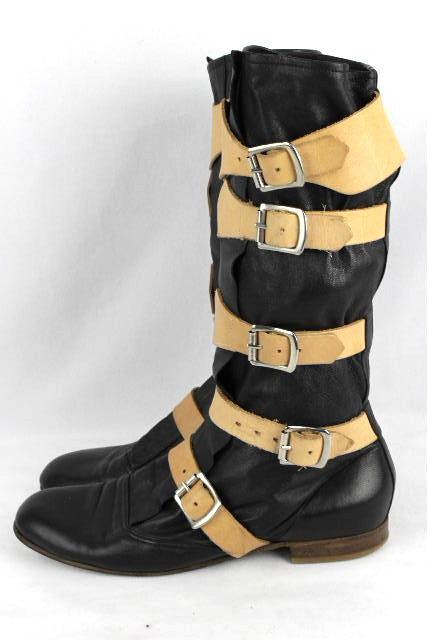 ヴィヴィアンウエストウッド [ Vivienne Westwood ] パイレーツ ブーツ ブラック 黒 SIZE[26cm 26.5cm] メンズ レザー ヴィヴィアン シューズ