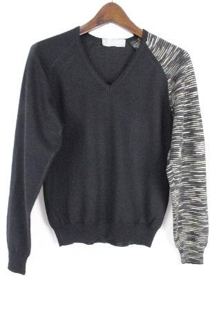 ミッソーニ [ MISSONI ] Vネック ニット セーター ブラック 黒 長袖 SIZE[40] レディース トップス
