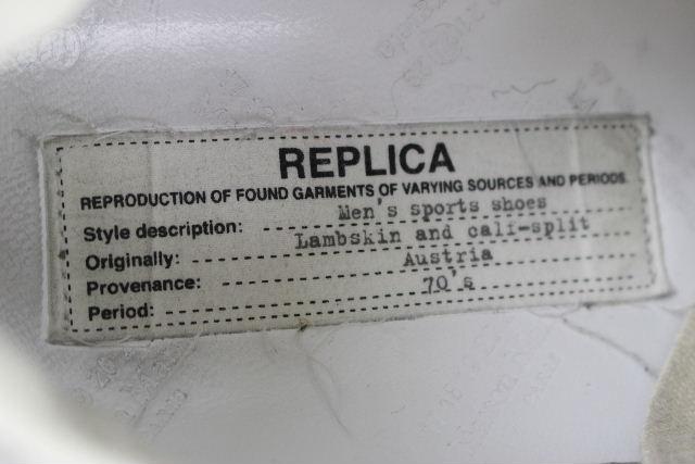 マルタンマルジェラ [ Martin Margiela REPLICA ] フェルト スニーカー グレー SIZE[37] レディース シューズ レプリカ