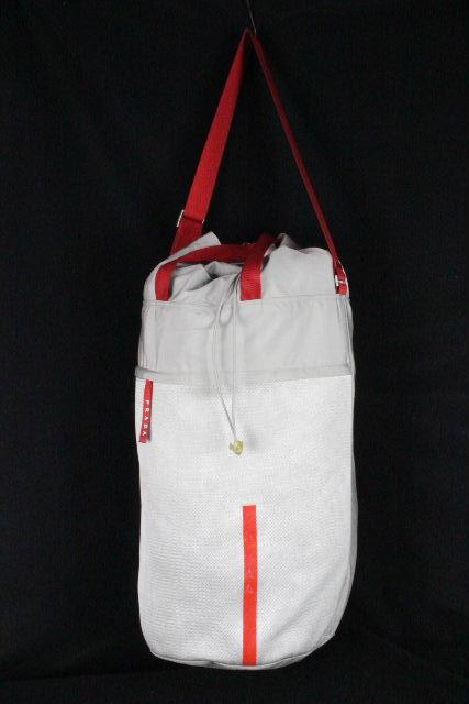 プラダスポーツ [ PRADA ] ボストンバッグ グレー メンズ プラダ トラベルバッグ 旅行バッグ