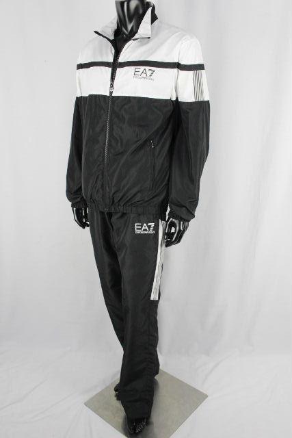 エンポリオアルマーニ [ ARMANI ] EA7 セットアップ ジャージ ブラック 黒 SIZE[XL] メンズ アルマーニ トレーニングウエア