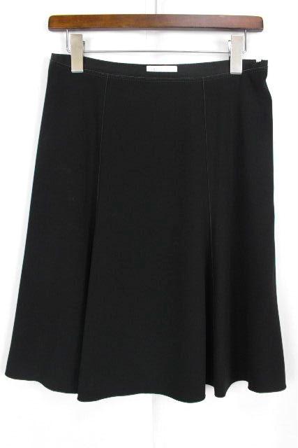 ポールカ [ PAUL KA ] フレアースカート ブラック 黒 SIZE[38] レディース ボトムス スカート