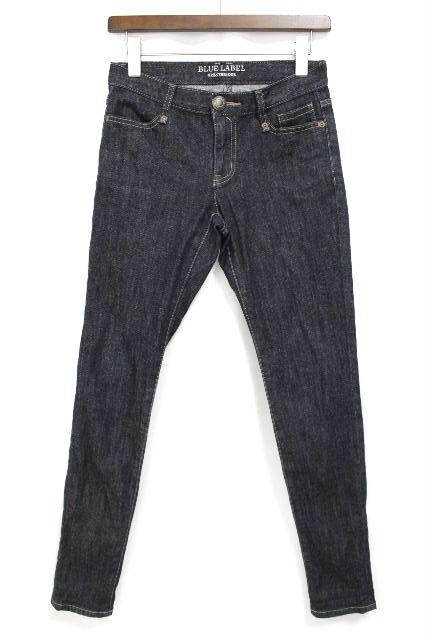 ブルーレーベル クレストブリッジ [ BLUE LABEL ] 濃紺 スキニー デニムパンツ SIZE[38] レディース ボトムス ジーンズ ジーパン Gパン