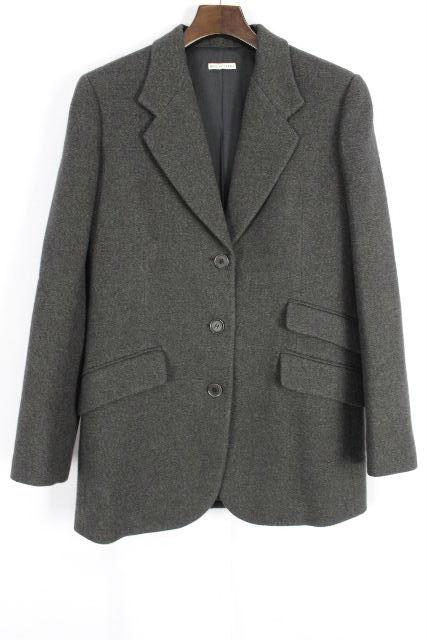 エルメス [ HERMES ] ウール テーラードジャケット SIZE[36/M相当(目安)] メンズ アウター コート グレー