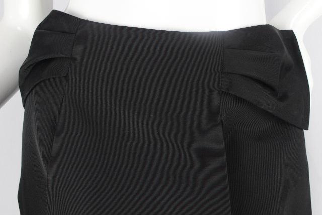 ハロッズ [ Harrods ] ナイロン リボン フレアースカート ブラック 黒 SIZE[3] レディース ボトムス スカート