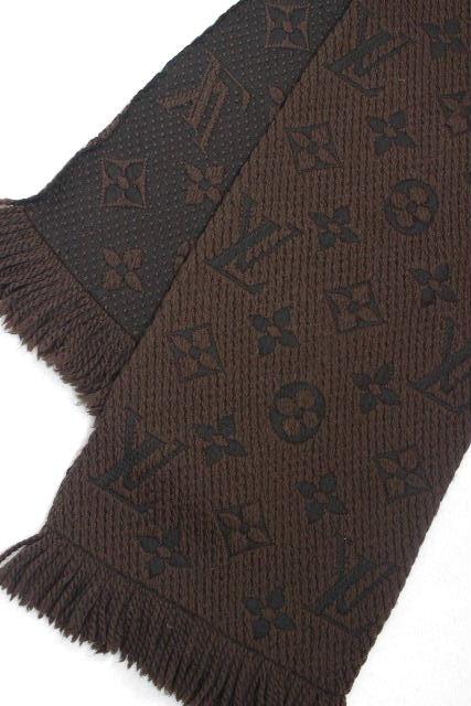 ルイヴィトン [ LOUISVUITTON ] エシャルプ・ロゴマニア [M72241] モノグラム マフラー ブラウン 茶色 ヴィトン ビトン