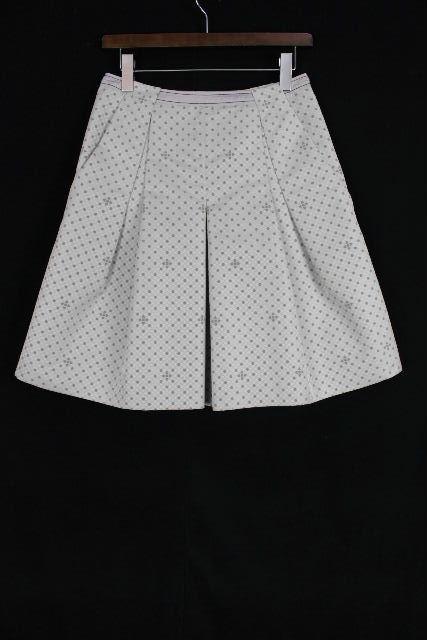 ポールカ [ PAUL KA ] フラワー フレアースカート グレー SIZE[38] レディース ボトムス スカート 花柄
