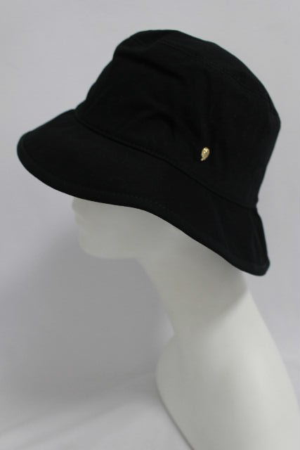 ヘレンカミンスキー [ HELEN KAMINSKI ] 折り畳み コットン帽子 ブラック 黒 レディース ハット 帽子