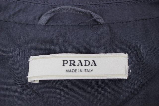 プラダ [ PRADA ] セットアップ スカート スーツ ネイビー 紺色 SIZE[40 38] レディース リボン ジャケット フレアースカート
