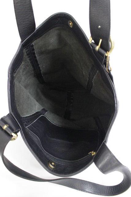 コーチ [ COACH ] オールレザー トートバッグ ブラック 黒 レディース メンズ ショルダーバッグ バッグ