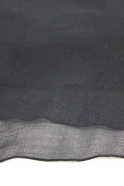フォクシー NY [ FOXEY ] プリーツ シフォン ワンピース ブラック 黒 SIZE[38] レディース ジャンパースカート ワンピ