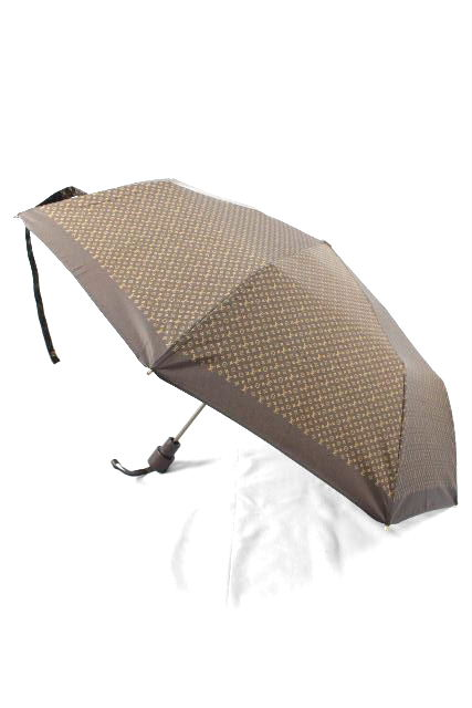 ルイヴィトン [ LOUISVUITTON ] モノグラム柄 ワンタッチ 折り畳み傘 アンブレラ メンズ レディース ヴィトン ビトン