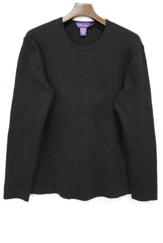 ラルフローレン [ Ralph Lauren ] パープルタグ ニット セーター ブラック 黒 長袖 SIZE[L] メンズ トップス 紫タグ