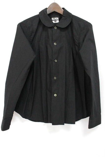 コムデギャルソン [ BLACK GARCONS ] プルオーバー ブラウス ブラック 黒 長袖 SIZE[XS] レディース ギャルソン トップス シャツ