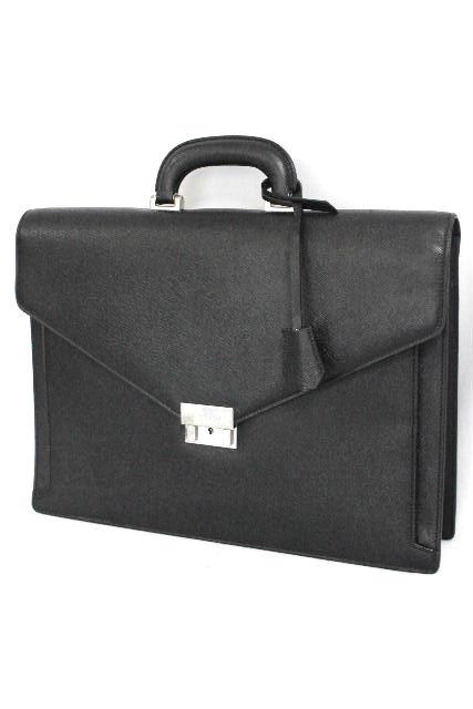 バーバリー [ BURBERRY ] レザー ブリーフケース ブラック 黒 ビジネスバッグ 書類バッグ