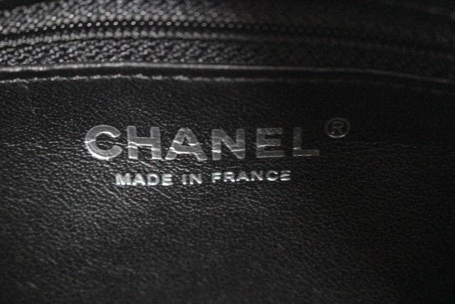 シャネル [ CHANEL ] レザー キルティング マトラッセ ハンドバッグ ブラック 黒 レディース ミニボストンバッグ