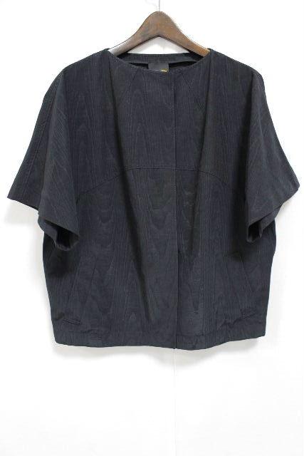 フェンディ [ FENDI ] ナイロン ビッグシルエット ジャケット ブラック 黒 SIZE[38] レディース トップス プルオーバー 半袖