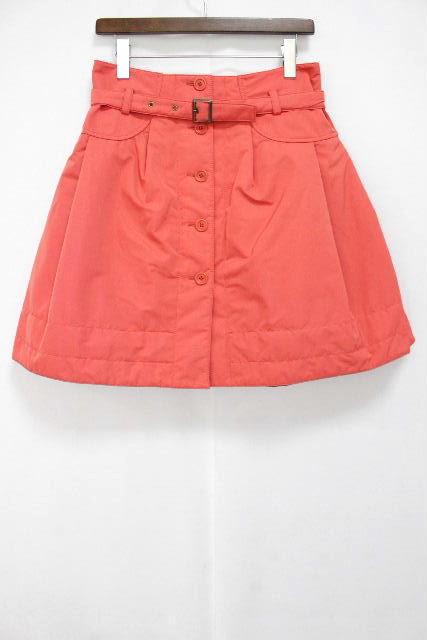 エムズグレイシー [ MS GRACY ] 中綿 ベルト フレアースカート ピンク SIZE[38] レディース スカート