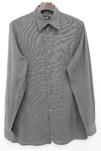 ヒューゴボス [ BOSS ] カジュアルシャツ ブラック 黒 長袖 SIZE[M] メンズ トップス シャツ ボス