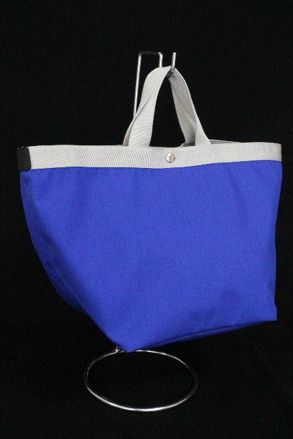 エルベシャプリエ [ Herve Chapelie ] コーデュラ舟型トート ブルー 青色 SIZE[L] レディース バッグ