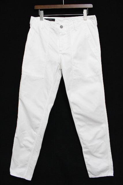 グッチ [ GUCCI ] カーゴパンツ ホワイト 白 SIZE[44] メンズ カジュアルパンツ ワークパンツ ホワイトデニム