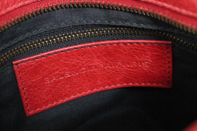 バレンシアガ [ BALENCIAGA ] ミニシティ レッド 赤 正規店購入品 レディース 2WAY ショルダーバッグ ハンドバッグ ポーチ