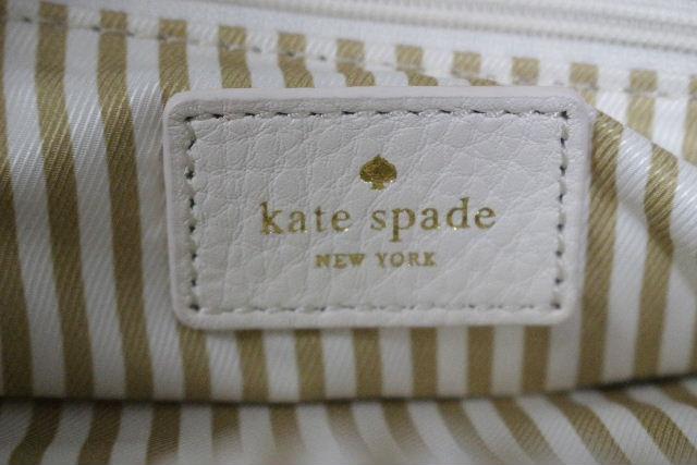 ケイトスペード [ katespade ] レザー ハンドバッグ オフホワイト レディース ケイト トートバッグ