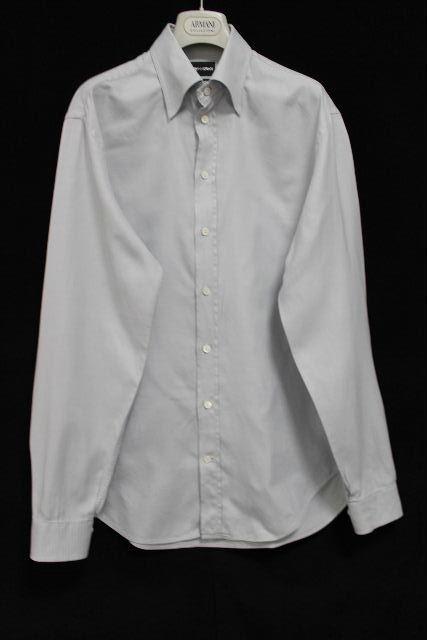 エンポリオアルマーニ [ ARMANI ] カッターシャツ ブルー 長袖 SIZE[41/16] メンズ アルマーニ トップス シャツ