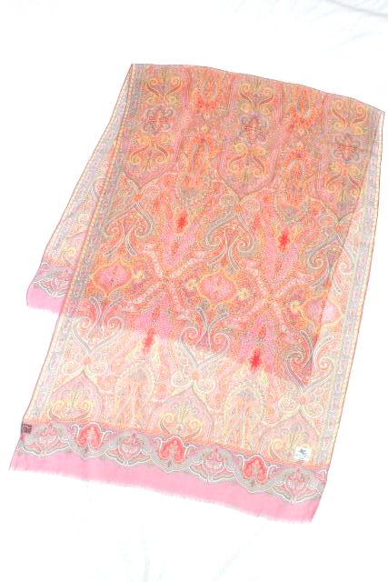 エトロ [ ETRO ] シルク ペイズリー柄 ストール ショール レディース 女性用 スカーフ