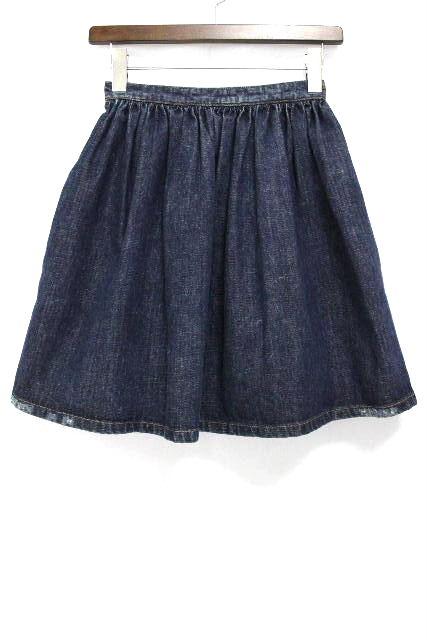ミュウミュウ [ miumiu ] ダメージ加工 デニムスカート SIZE[36] レディース ボトムス フレアースカート スカート