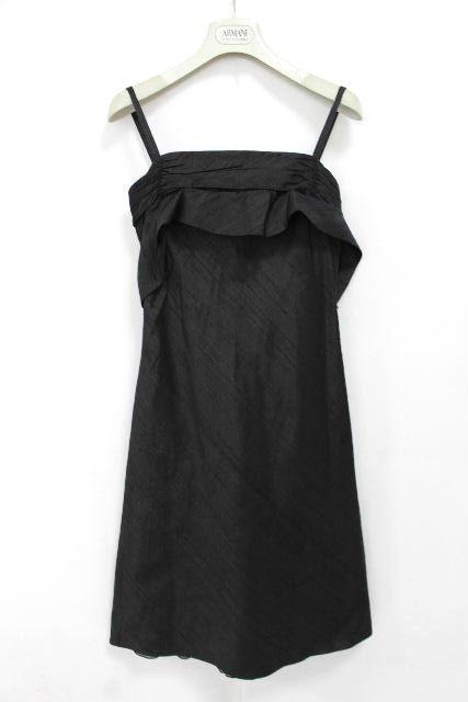 エンポリオアルマーニ [ ARMANI ] ドレス キャミワンピース ブラック 黒 SIZE[38] レディース アルマーニ ワンピ