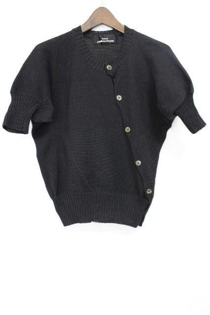 トリココムデギャルソン [ COMMEdesGARCONS ] ニット カーディガン ブラック 黒 半袖 SIZE[FREE] レディース ギャルソン セーター