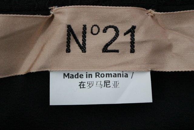 ヌメロヴェントゥーノ [ N°21 ] レース フレアースカート ブラック 黒 SIZE[40] レディース ボトムス スカート