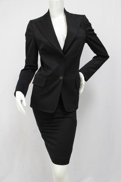 グッチ [ GUCCI ] セットアップスーツ ブラック 黒 SIZE[40] レディース スーツ ジャケット スカート