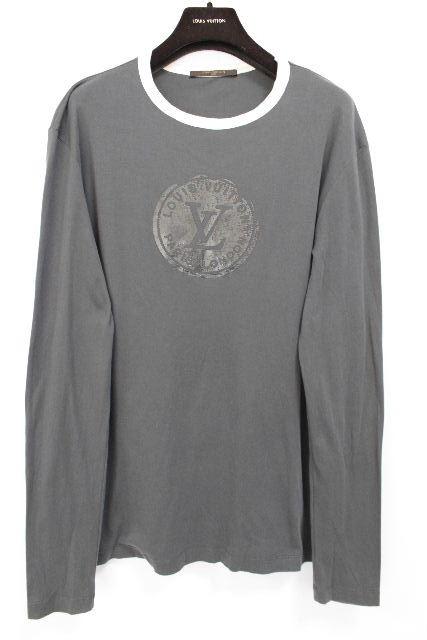 ルイヴィトン [ LOUISVUITTON ] LVロゴ Tシャツ 長袖 SIZE[M] メンズ ヴィトン ビトン トップス ロンT ロングTシャツ