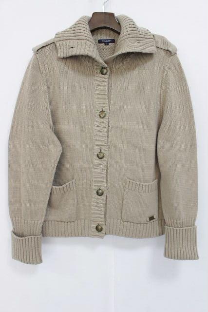 バーバリーロンドン [ BURBERRY ] ニット ジャケット ベージュ SIZE[5] レディース バーバリー アウター コート セーター